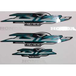 Kit de Adesivos Biz 100 ES 2003 Preta