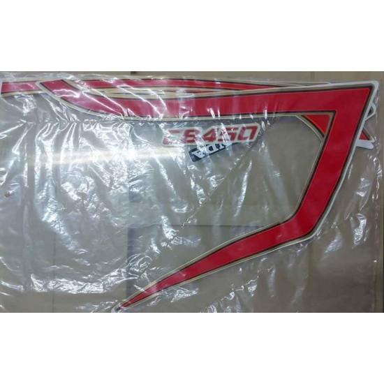 Kit de Adesivos CB 450 1985 Vermelha