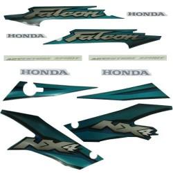 Kit de Adesivos Falcon 2002 Verde