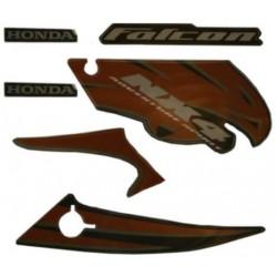 Kit de Adesivos Falcon 2007 Laranja