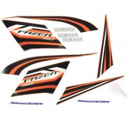 Kit de Adesivos Fazer 150 2014 Laranja