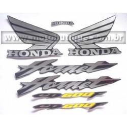 Kit de Adesivos Hornet 2006 PRETA