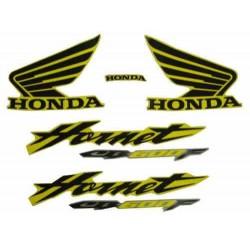 Kit de Adesivos Hornet 2006 AMARELA