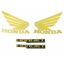 Kit de Adesivos Hornet 2010 PRETA