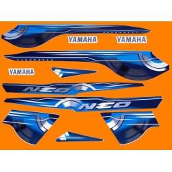 Kit de Adesivos Neo 2010 Azul