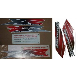 Kit de Adesivos Tornado 2001 e 2002 Branca