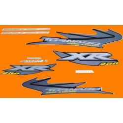 Kit de Adesivos Tornado 2004 Preta