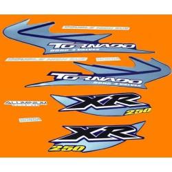 Kit de Adesivos Tornado 2005 Azul