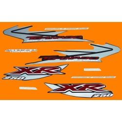 Kit de Adesivos Tornado 2005 Preta