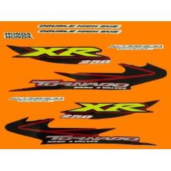 Kit de Adesivos Tornado 2005 Vermelha
