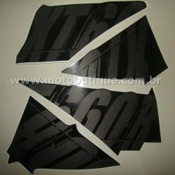 Kit de Adesivos XT 660 R 2009 Preta