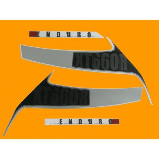 Kit de Adesivos XT 660 R 2010 2011 2012 e 2013 Branca