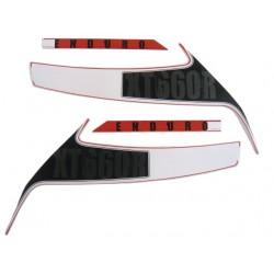 Kit de Adesivos XT 660 R 2013 e 2014 Vermelha