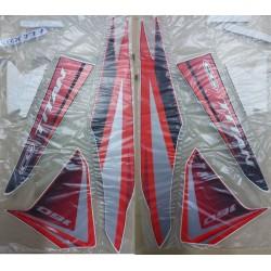 Kit de Adesivos Titan 160 EX 2017 Vermelha
