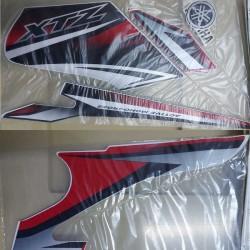 Kit de Adesivos XTZ 125 2011 Vermelha
